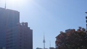 韓国南山タワー