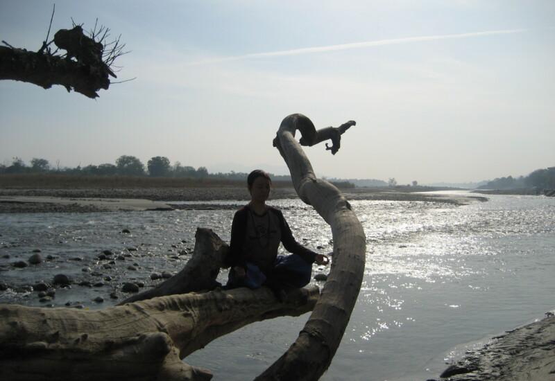 2012年インドにて
